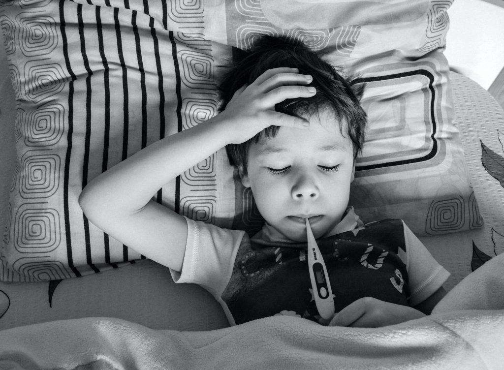 dziecko przeziębienie